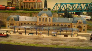 The entire layout design centered around accommodating this huge station.